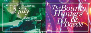 Tentfeest Do Komst Easterwierrum mei de The Bounty Hunter en DJ Bassie, 2 juli 2016