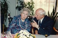 Fotoalbum Auke Hoekstra, 087, Echtpaar Hoekstra 65 jaar getrouwd