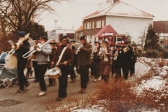 Fotoalbum Bert Hendriks (Palstra), 031, 1982 febr. Carnavalsoptocht Snits Ons Ideaal Eaterwierrum