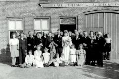 Fotoalbum Dirk Sybrandy, 003, It houlik fan Hendrik Sybrandy en Fokje Sijpersma op 10 july 1946 01