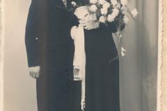 Fotoalbum Laumann-Kingma, Jaap Kingma en Wokke Bijlsma, getrouwd 1939