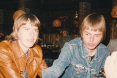 Fotoalbum Piet Boersma, 001, Fûgelwachtreiske, juni 80, Gerard Boersma en Piet Boersma