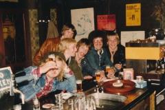 Fotoalbum Piet Boersma, 001, Fûgelwachtreiske, juni 80, Henk Altenburg, Jappie van der Werf, Gerard Boersma, Rene Abbing, Johannes Dijkstra, Johannes Dijkstra
