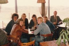 Fotoalbum Piet Boersma, 001, Fûgelwachtreiske, juni 80, Johannes Dijkstra, Johannes Dijkstra, Gerard Boersma, Rene Abbing, Jappie van der Werf, Henk Altenburg en Tjalling Hoekstra