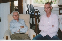 Fotoalbum Piet Boersma, 003, Yep en Eef v.d. Werf 26 juli 2007