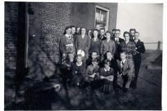 Fotoalbum Piet Boersma, 011, Kerstmis 1952