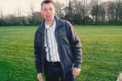Fotoalbum Piet Boersma, 042, Piet Boersma yn Easterwierrum op it sportfield, 2006
