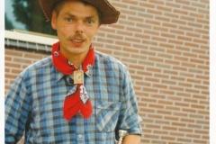 Fotoalbum Piet Boersma, 045, Piet Boersma op de merke fan augustus 1994