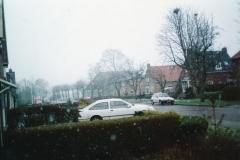 Fotoalbum Piet Boersma, 049, Winter, jier net bekend, op de Doarpsstrjitte