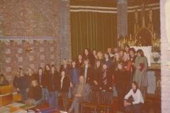 Fotoalbum Piet Boersma, 061, Yn de RK Tsjerke, maar wat is dit Piet