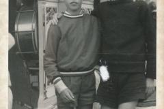 Fotoalbum Piet Boersma, 063, Piet en Jan Boersma, 1968