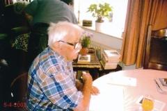 Fotoalbum Piet Boersma, 067, Bote en Mieke Boersma, 05-04-2002