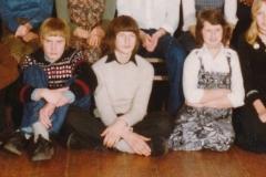 Fotoalbum Piet Boersma, 099, De Dansclub van Oosterwierum, 13-03-1978 underste rige