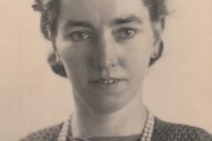 Fotoalbum Piet Boersma, 112,Tante Boukje 7 februari 1943
