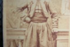 Fotoalbum Yda Terwisscha van Scheltinga, 38 Otto Kingma Souaves bij de Paus.