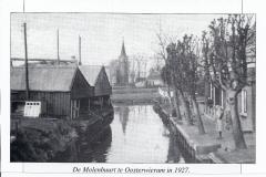Fotoalbum Yda Terwisscha van Scheltinga, b 0005, Kranteknipsel, de âld feart Easterwierrum