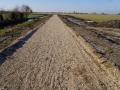 Fotoalbum Geart Siesling, 071, It nije fietspaad lâns de Zwette by Easterwierrum, 22-02-2013