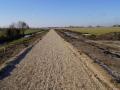 Fotoalbum Geart Siesling, 072, It nije fietspaad lâns de Zwette by Easterwierrum, 22-02-2013