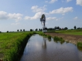 Fotoalbum Geart Siesling, 083, It nije fietspaad lâns de Zwette by Easterwierrum, 09-08-2013