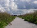 Fotoalbum Geart Siesling, 097, It nije fietspaad lâns de Zwette by Easterwierrum, 15-08-2014