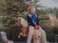031 Fotoalbum Bokke Eekerk, 010, Merke, Jennie Kroes, jierren 80