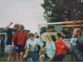 036 Fotoalbum Bokke Eekerk, 018, Merke jierren 80, Piet Douma, Julia van de Meer, Tjarko Ockers, Marta Mulder, Tjitske Rozenberg, Arie van der Meulen
