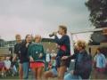 038 Fotoalbum Bokke Eekerk, 020, Merke jierren 80, Gerben Boersma, Lieuwe Brandenburgh, Gertjan van der Meer, Gerlof Miedema