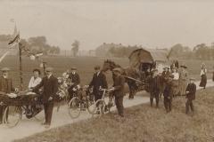 Fotoalbum Douwe Ferwerda, Foto 26, kaart, Onafhankelijkheiddagen, 1913