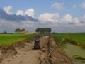 Fotoalbum Geart Siesling, 005, Wurksaamheden nije fietspaad Easterwierrum - Kleiterp, 09-09-2014 tot en met 04-10-2014