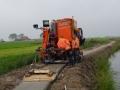 Fotoalbum Geart Siesling, 039, Wurksaamheden nije fietspaad Easterwierrum - Kleiterp, 09-09-2014 tot en met 04-10-2014