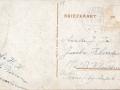 Fotoalbum Douwe Ferwerda, 049, Achterkant kaart, afzender G. Boersma