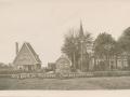Fotoalbum Douwe Ferwerda, Foto 17, Kaart N.H. Kerk en Pastorie Oosterwierum