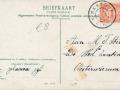 Fotoalbum HKE, 001, Groeten uit Oosterwierum, 21-12-1907, Oan A. T. Stilma - Zantema fan Johanna