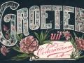 Fotoalbum HKE, 001, Groeten uit Oosterwierum, 21-12-1907