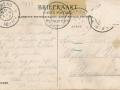 Fotoalbum HKE, 005, achterkant, adressearre oan Wytse van der Vegt en ôfstjoerder is van der Vegt, 30-08-1908