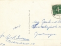 Fotoalbum HKE, 006, achterkant, Doarpsstrjitte - Bozumerweg, juny 1954