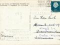 Fotoalbum HKE, 009, achterkant, adressearre oan de heer Knol, Singel 39 Oosterwierum, 1967