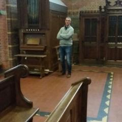 De kommisje fan behear H Wiero Tsjerke krijt in rûnlieding yn Blauhûs