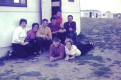 Fotoalbum Fam. Hoekstra, Fan links nei rjochts, Rennie de Schiffart,Bonnie Bootsma, Rintsje de Schiffart, Frittie Hoekstra