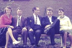 Fotoalbum Frits Hoekstra, 002, Pietje, Hendrik, Jelle, Freddie en Marie Hoekstra