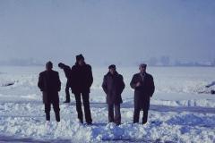 Fotoalbum Frits Hoekstra, 054, Jan Verloop, Folkert Walma, Siebren Altenburg en Juut Hoogma.