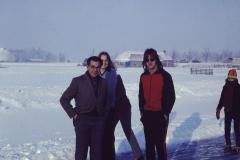 Fotoalbum Frits Hoekstra, 058, Hendrik en Beitsche Hoekstra en vriend