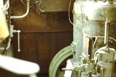 Fotoalbum Frits Hoekstra, 064, 30 pk. Hollandia gloeikopmotor in de oude ms. de Vlijt.