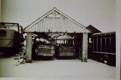 Fotoalbum Frits Hoekstra, 153, PICT0148 De brand van de garage Sijpersma.