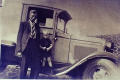 Fotoalbum Frits Hoekstra, 179, PICT0101 Alberda met zoon Sietse.