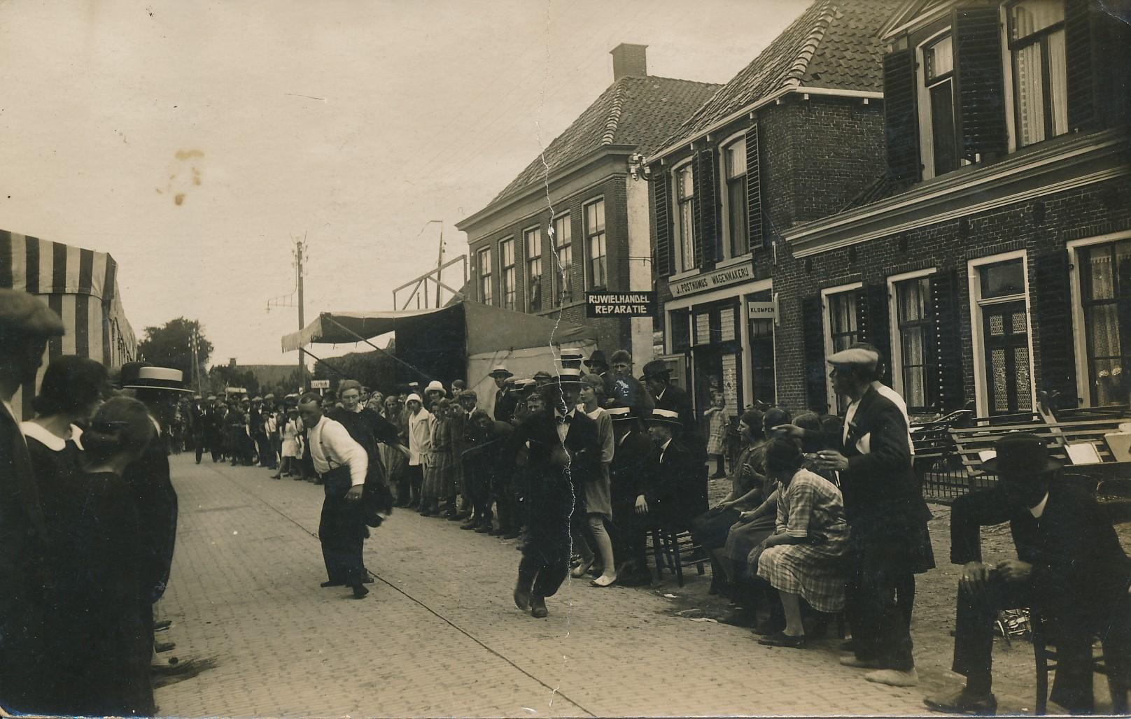 Fotoalbum Andre Kamsma, 001, foarkant, merke 1928
