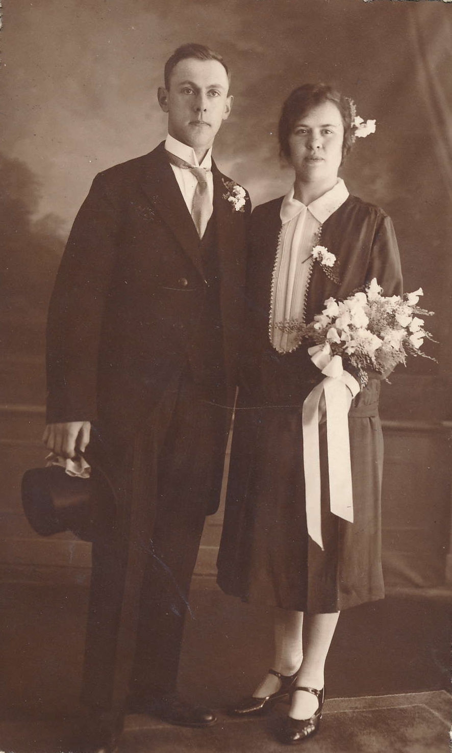 Fotoalbum Andre Kamsma, 008, 25 jierich houliksfeest, 05-06-1928 tot en met 05-06-1953