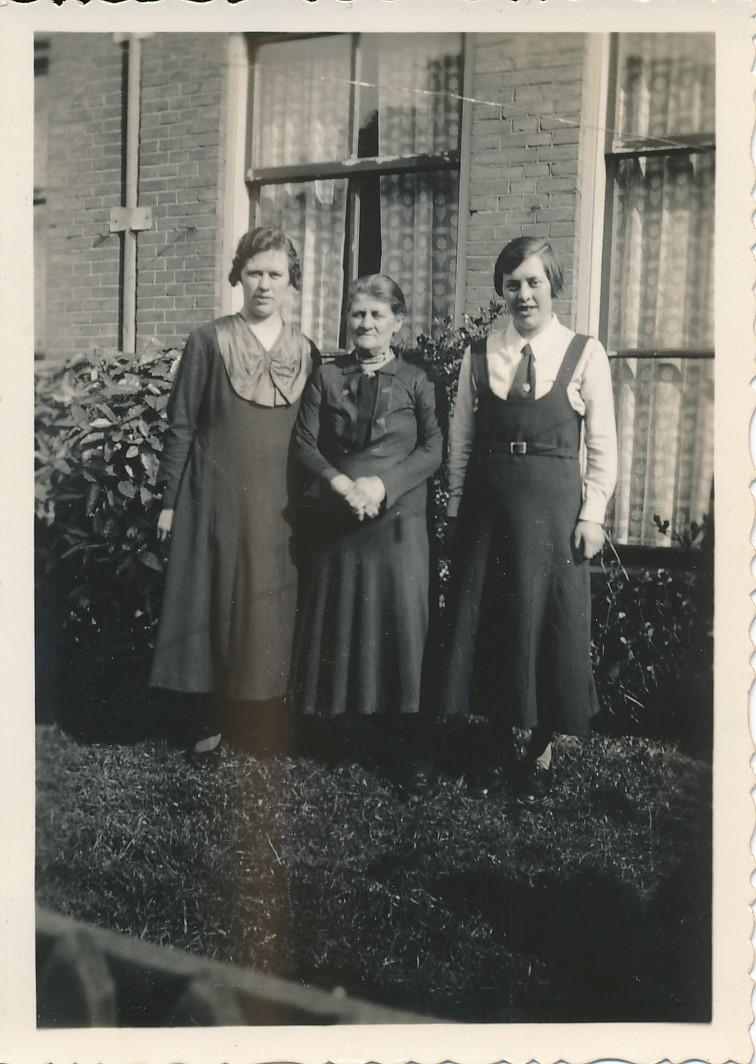 Fotoalbum Andre Kamsma, 014, Peaske 1936, Anna Tekstra