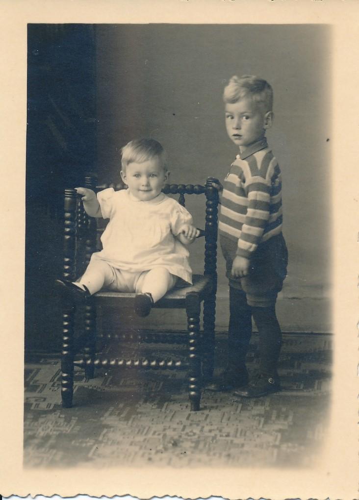 Fotoalbum Andre Kamsma, 015, Andre en Julia Kamsma, 1932
