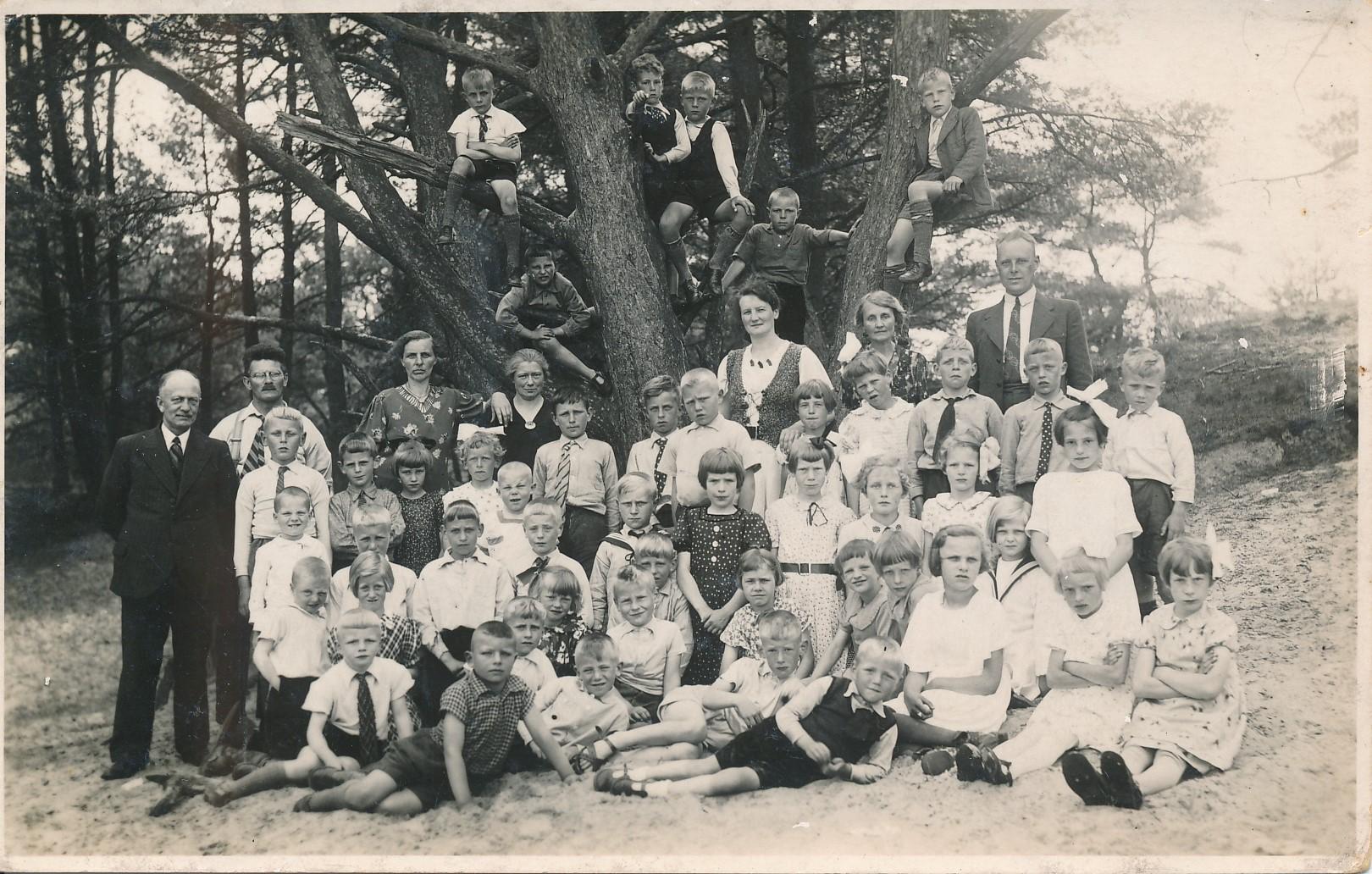 Fotoalbum Andre Kamsma, 018, Skoallereiske 1939